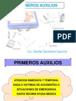 PRIMEROSS AUXILIOS
