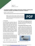 P25-Tut1 Haemonic Response of Aoustic Vibration