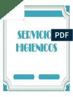 Servicios Higienicos