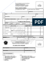 Navy Application Form