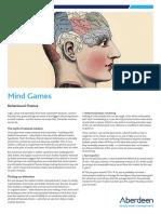 Aberdenn Asset Management - Mind Games