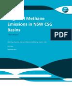 GISERA methane emissions in NSW CSG basins final report