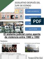Poder Judicial y El Terrorismo