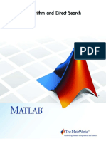 Genetic Algorithm and Direct Ssearch-MATLAB