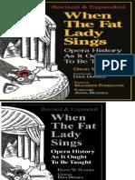 When the Fat Lady Sings_ Opera - David W. Barber