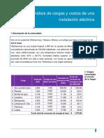 Análisis de Cargas y Costos de Una Instalación Eléctrica BCL-Minkowsky