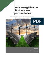 Práctica Reforma Energetica MSR