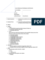Rencana Pelaksanaan Pembelajaran Listrik Dinamis