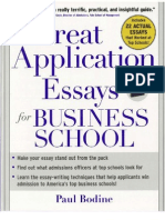 mba essays that worked vol venture capital tech start ups