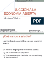 Modelo Clásico Economía Abierta(1)