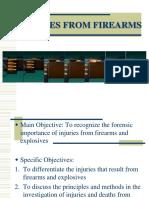 9-Firearm Explosives Injuries 2016