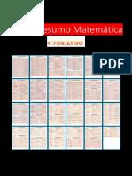 Resumo Matemática   fichas resumos formular matemáica