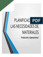 04 Plan Maestro de Producción