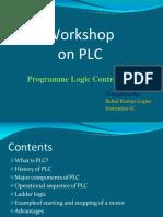 Presentatiob on Plc