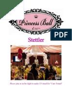 2018 stettler princess ball sponsor package