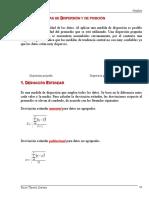 Unidad 5 Medidas de Dispersión