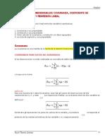 Unidad 6 Covarianza, correlación y regresión lineal