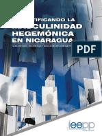 Desmitificando La Masculinidad Hegemonica en Nicaragua