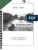 h Sr 2005 Summary