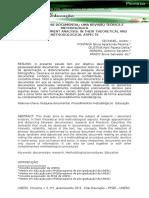 ESTUDO/ANÁLISE DOCUMENTAL