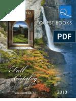 Quest BooksCatalog--Fall 2010