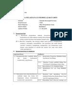 RPP Klasifikasi Makhluk Hidup