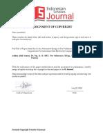 Formulir Copyright