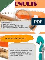 Ppt Menulis Bhs Indonesia