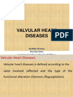Valvular Heart Disease for Nurses By Mr.Mihir.M.Patel