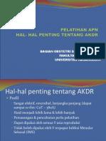01 Hal-hal Penting Tentang AKDR