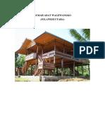 Rumah Adat Dan Legenda Sulawesi Utara