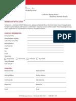 DART Application Form