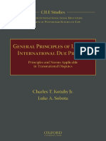 (CILE Studies 6) Charles T. Kotuby Jr., Luke a. Sobota-General Principles of Law and International Due Process _ Principles and Norms Applicable in Transnational Disputes-Oxford University Press (2017