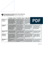 rubric (scoring guide) for performance task