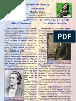 In Romania, Rediscovering Einstein