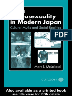 24882.Male Homosexuality in Modern Japan Cultural Myths and Social Realities