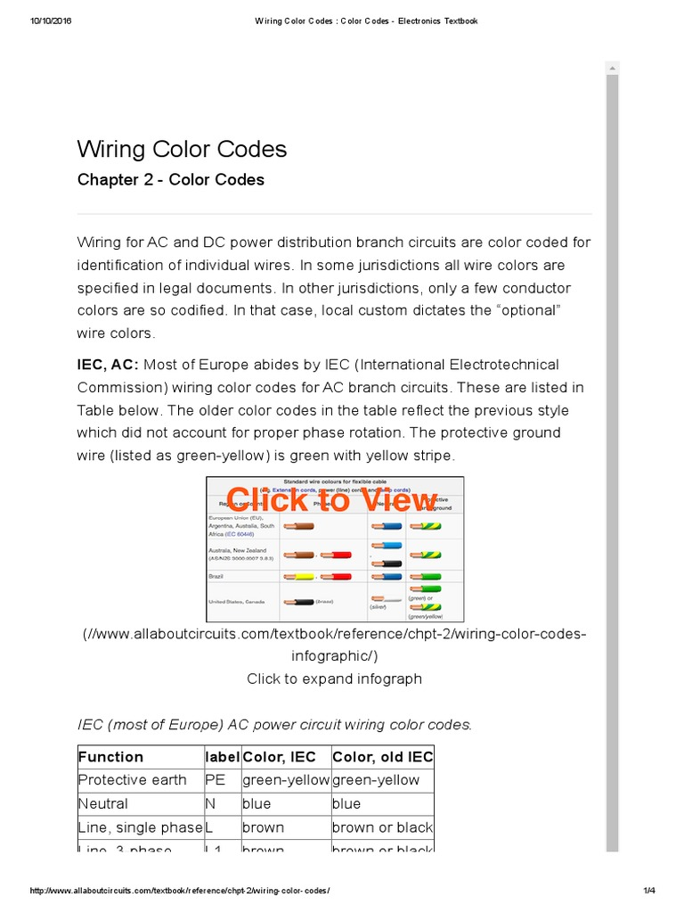 Ac Wiring Color Code Library Electrical New Zealand Colours Electric Power System