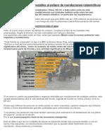 Las Ciudades Más Vulnerables Al Peligro de Inundaciones Catastróficas