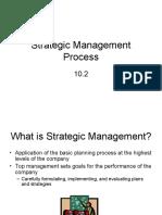 10-2 Strategic Management Process