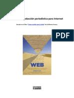 Manual de redacción periodística para Internet