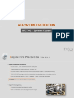Boeing 737 Ata 26 Fire Protection for b737 Pilot Training Self Study CBT Distance Learning