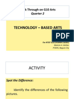 ARTS 2ND QUARTER- Technology-Based Arts
