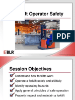 Forklift Operator Safety English
