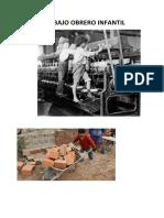 El Trabajo Infantil en La Revolución Industrial