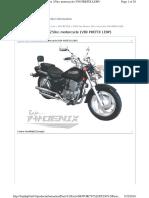 Baja Parts Catalog PX250 Motorcycle VIN Prefix LE8P