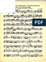 Piezas populares para violín. Dificultad media.