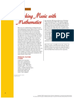 Making Music With Math--MT Fernandez