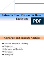 03.Week 1 - Review on Basic Statistics