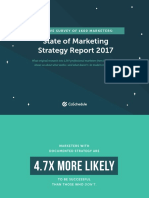State of Marketing Strategy 2017