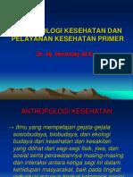 Antropologi Kesehatan Dan Pelayanan Kesehatan Primer2